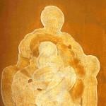 0- Kibele - Tuval. Akrilik. 73 x 100 cm. 1996