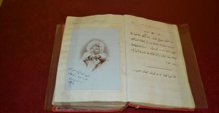 Eniştesi (halasının kocası) Memduh Ezine'nin hatıratı: 17 Ocak 1902'de doğan 53 günlük Nazım Hikmet (Halet Çambel Arşivi'nden)